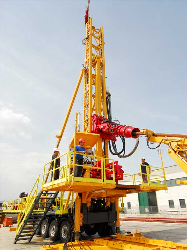 WEI D45S Slant Drilling Rig – DRILLING RIG 45 MTON
