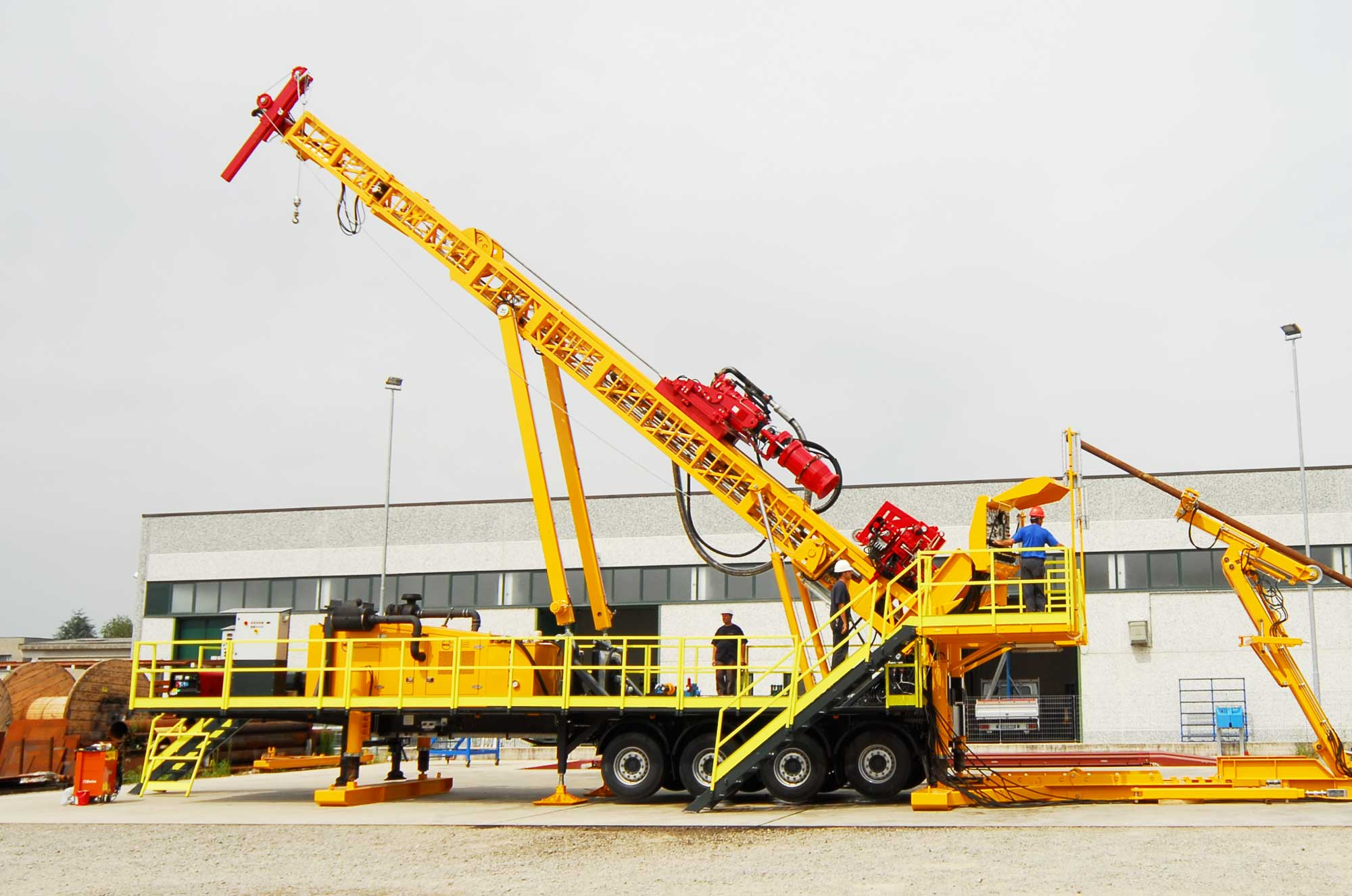 Wei | Well Equipment International - Piacenza, Italy | D40S Slant – DRILLING RIG 45 MTON