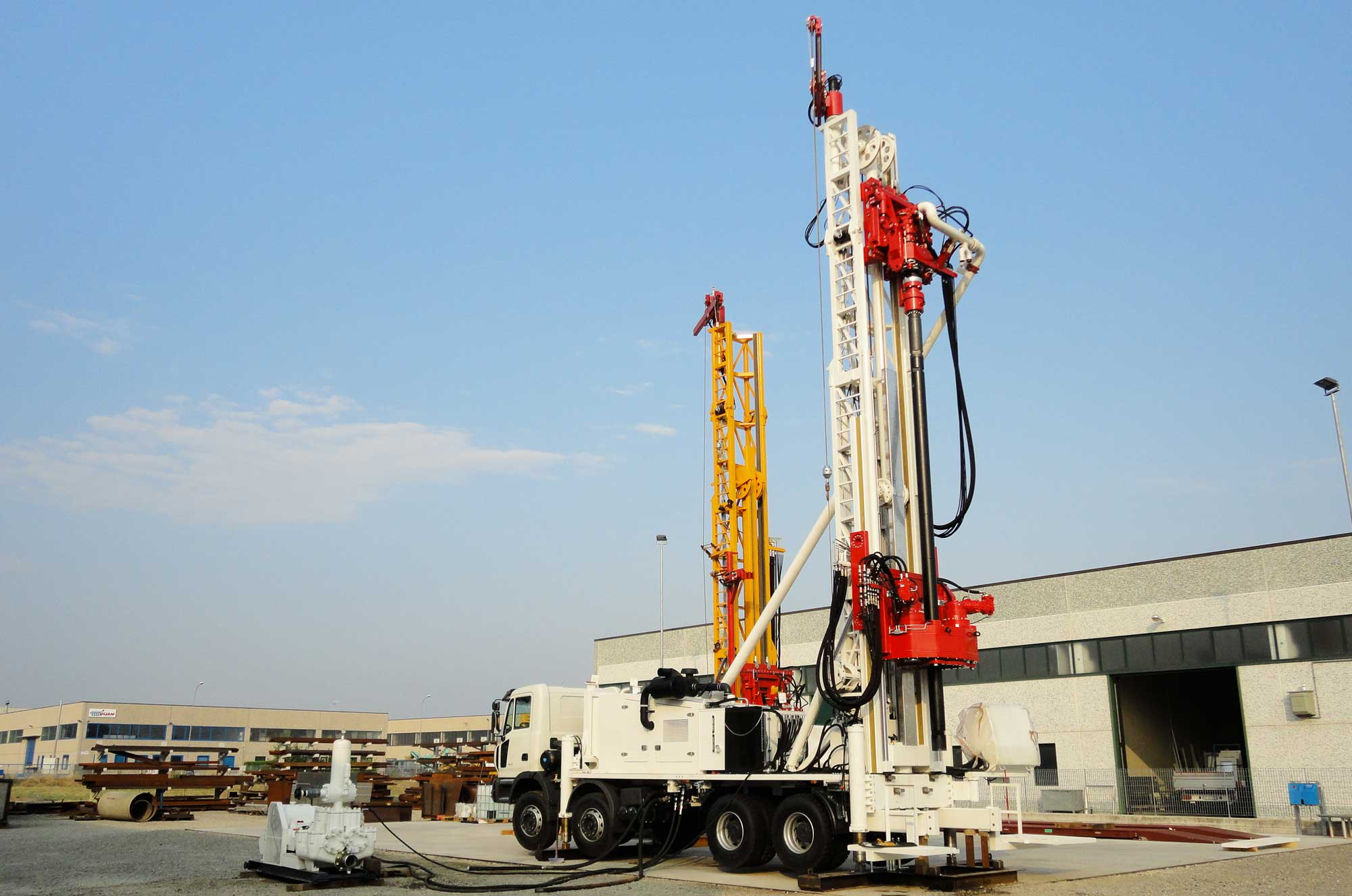 Wei | Well Equipment International - Piacenza, Italy | DR40 Dual Rotary – DRILLING RIG 40 MTON