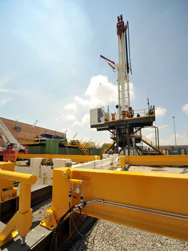 WEI DS150 Drilling Rig – DRILLING RIG 150 MTON