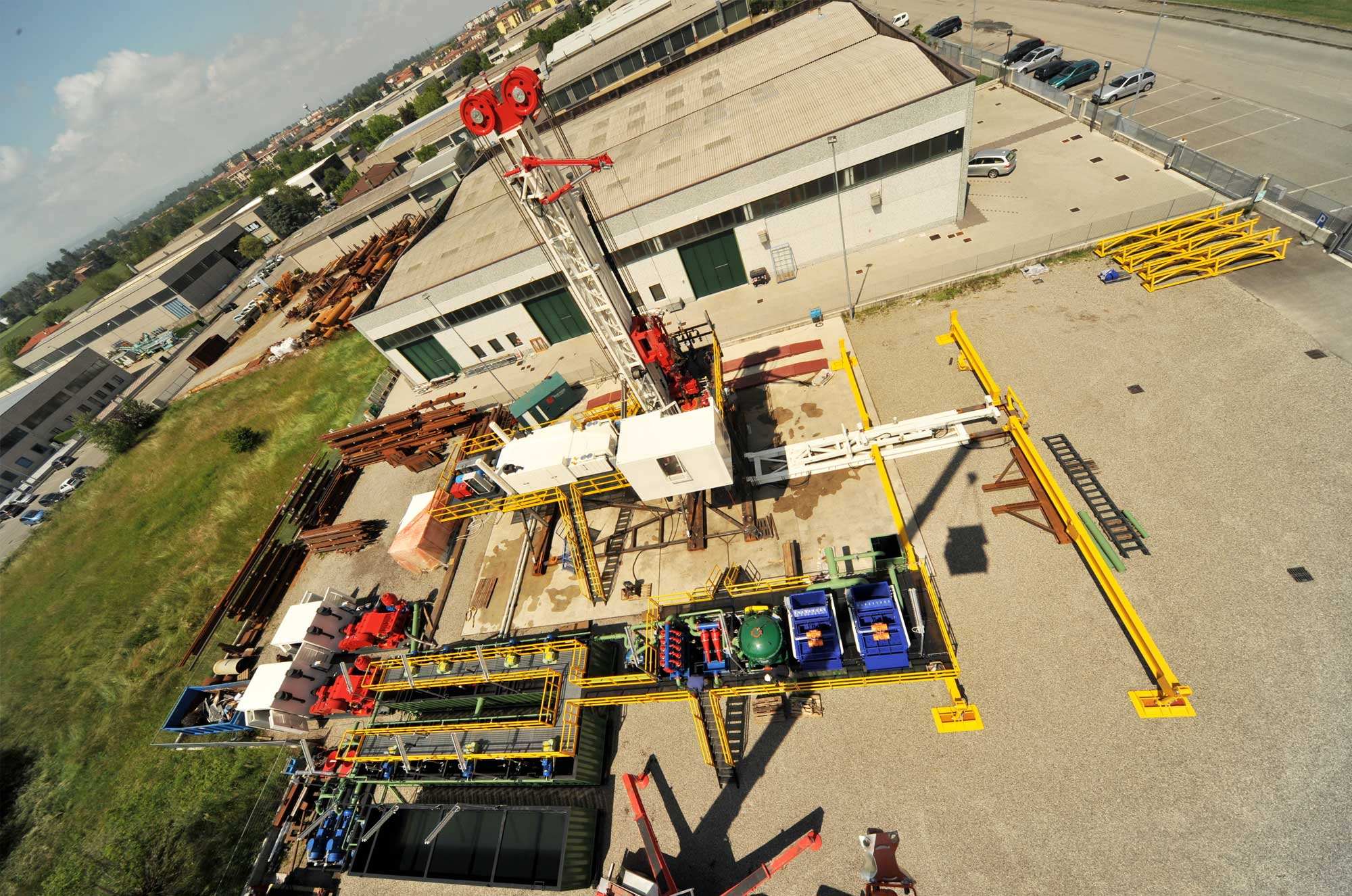 Wei | Well Equipment International - Piacenza, Italy | DS150 – DRILLING RIG 150 MTON