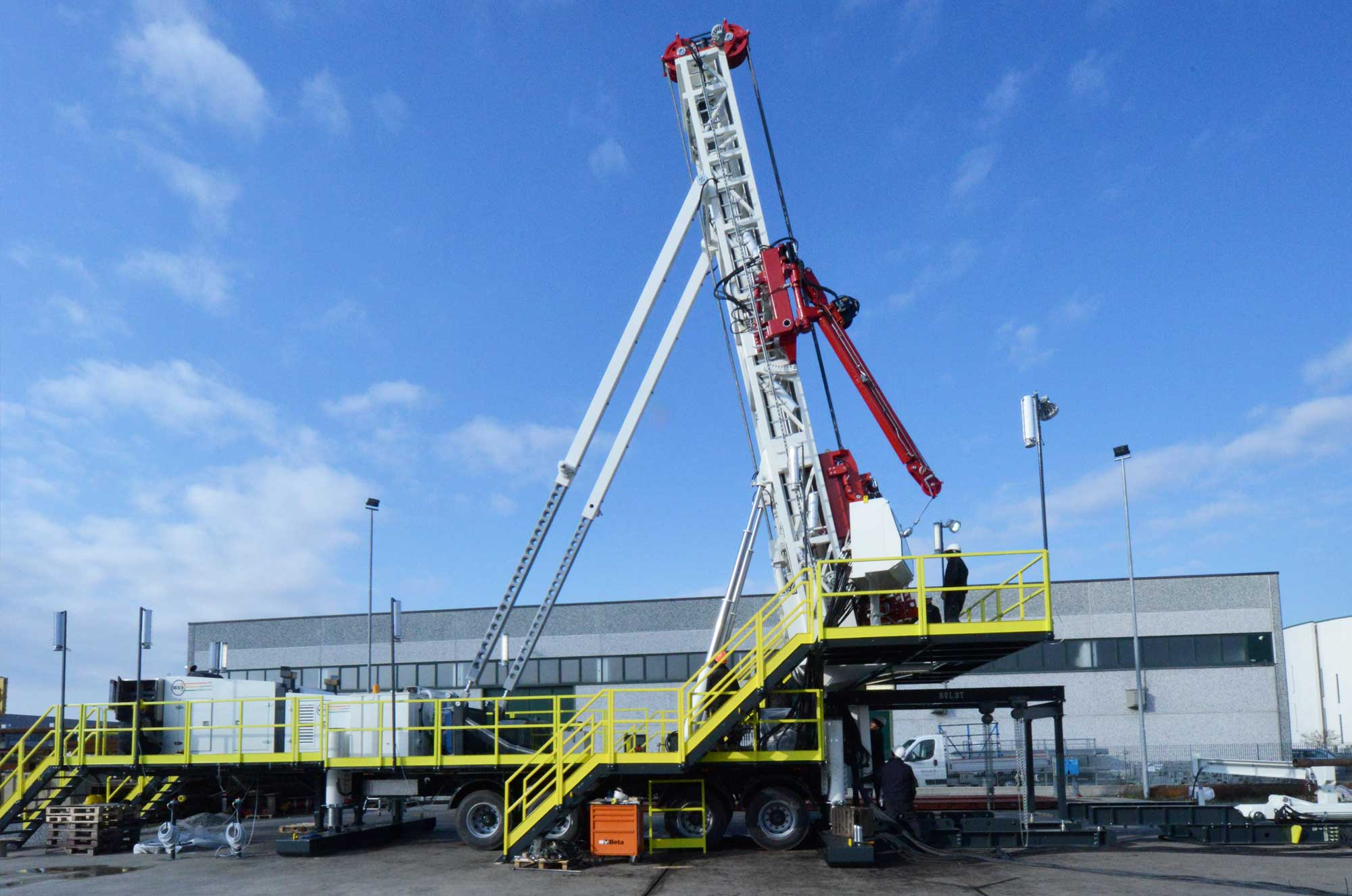 Wei | Well Equipment International - Piacenza, Italy | DS85S Slant – DRILLING RIG 85 MTON