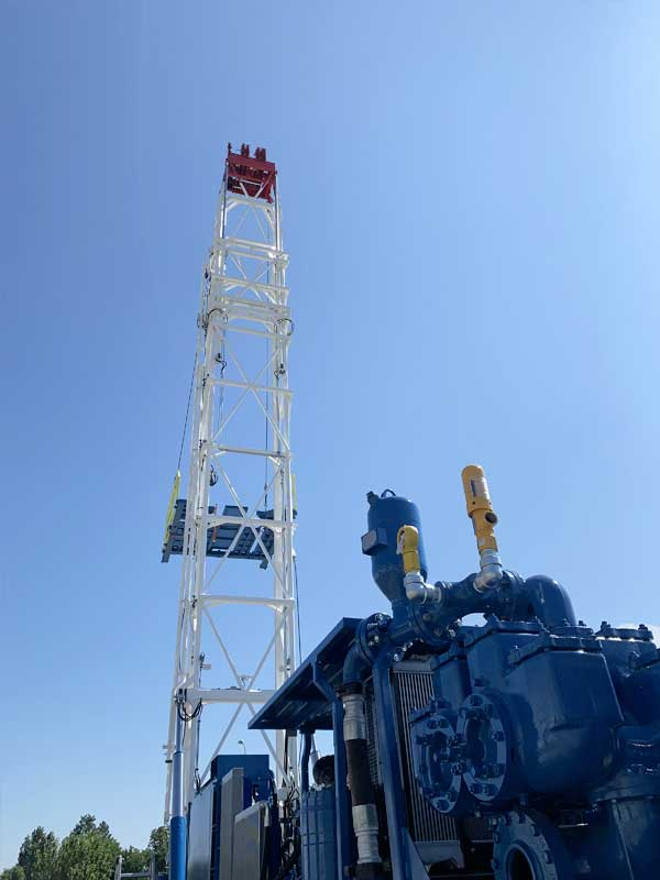 WEI M60 Drilling Rig – DRILLING RIG 60 MTON