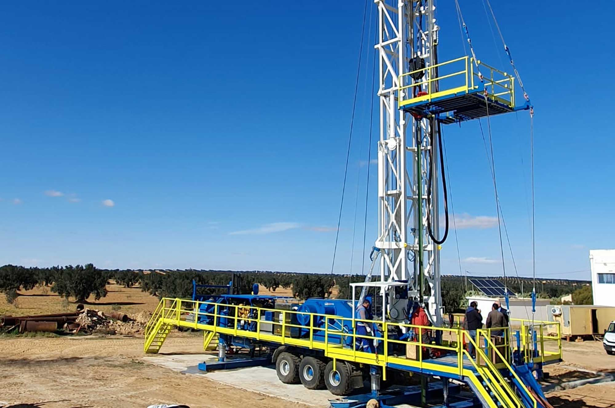 Wei | Well Equipment International - Piacenza, Italy | M60 – DRILLING RIG 60 MTON