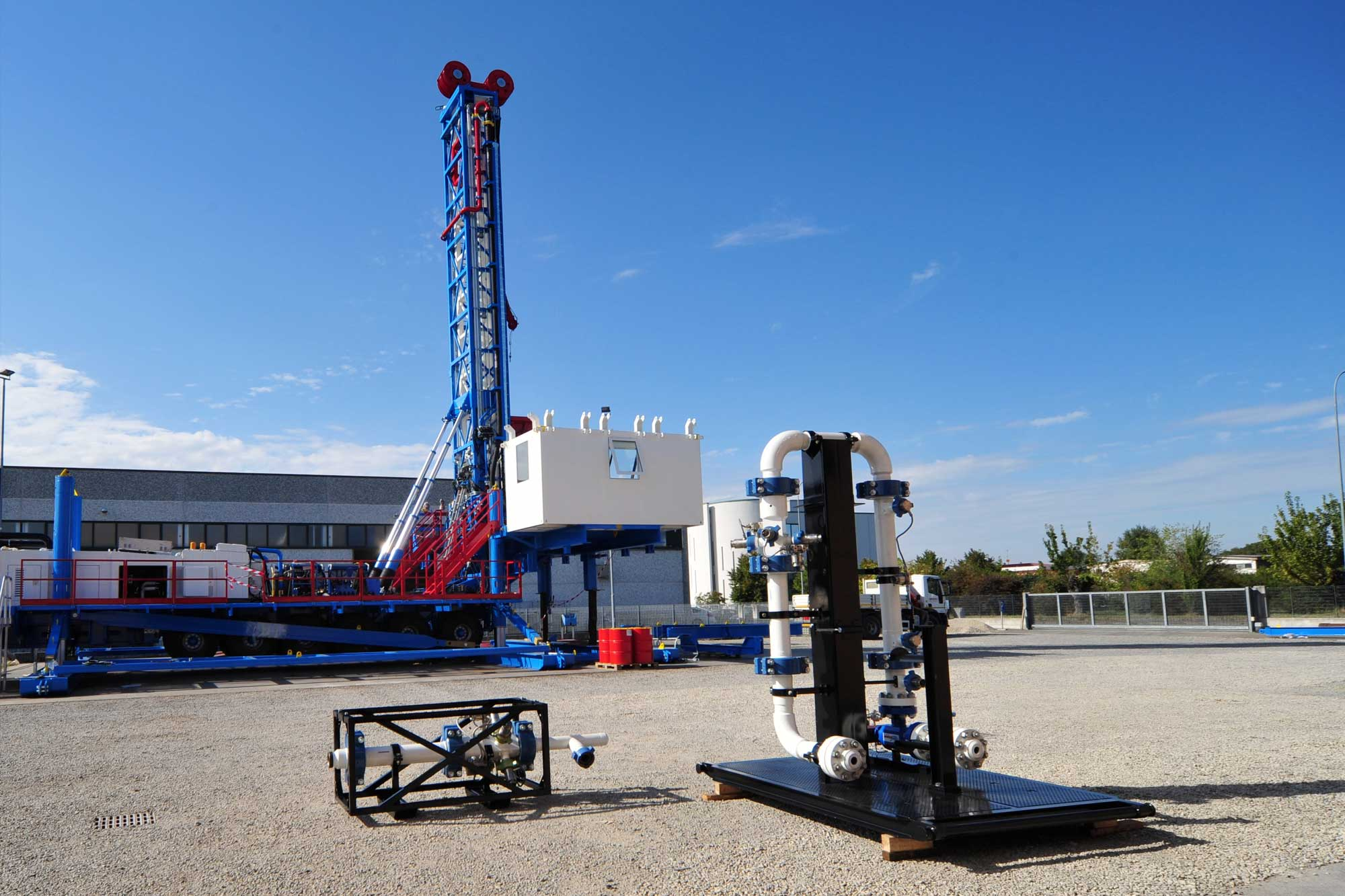 Wei | Well Equipment International - Piacenza, Italy | MPD Managed Pressure Drilling